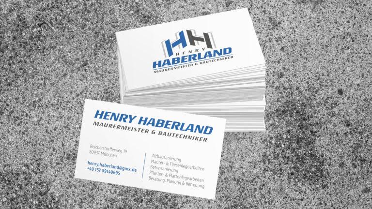 Henry Haberland Logo