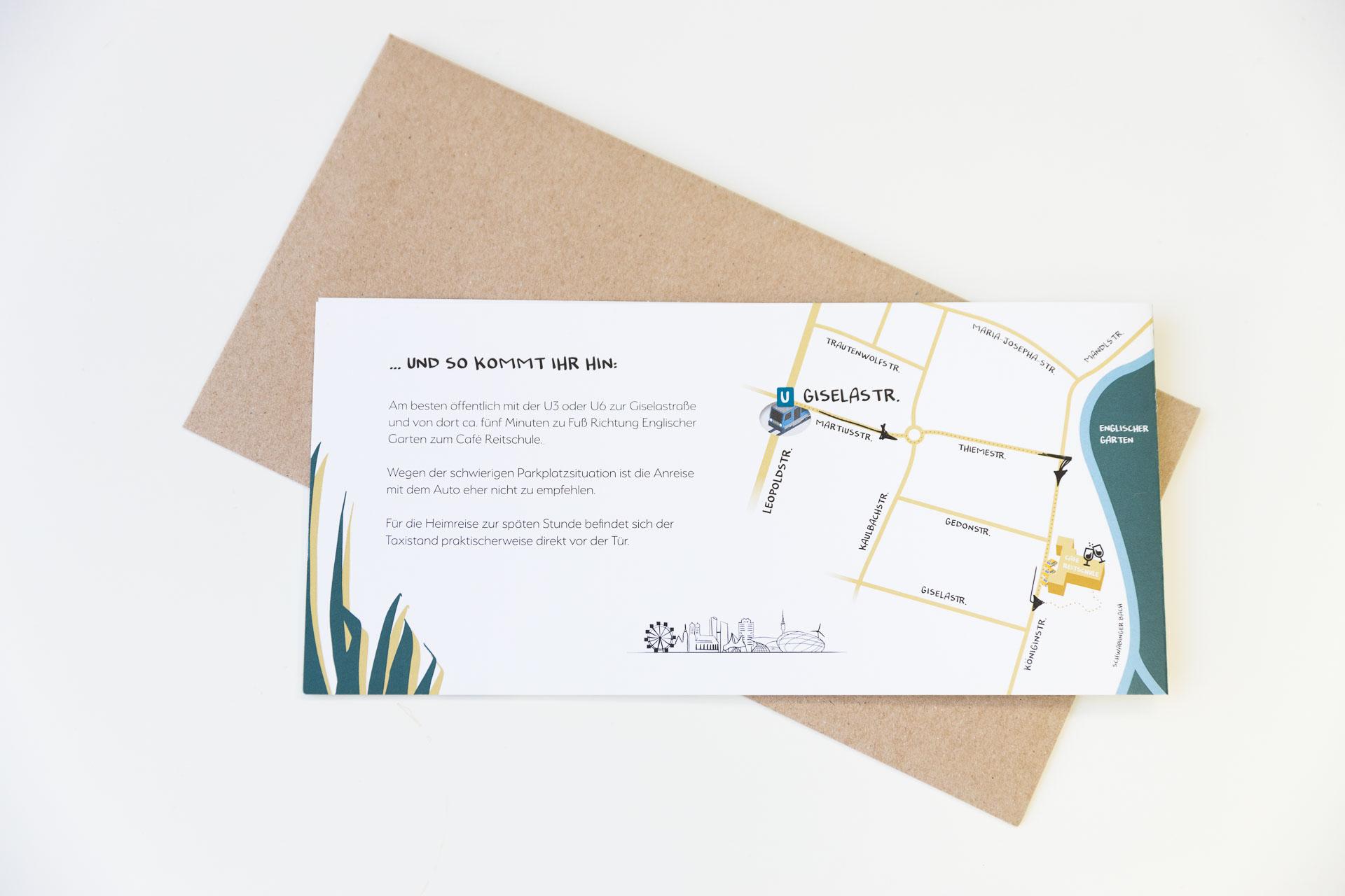 Hochzeit Einladungskarte München