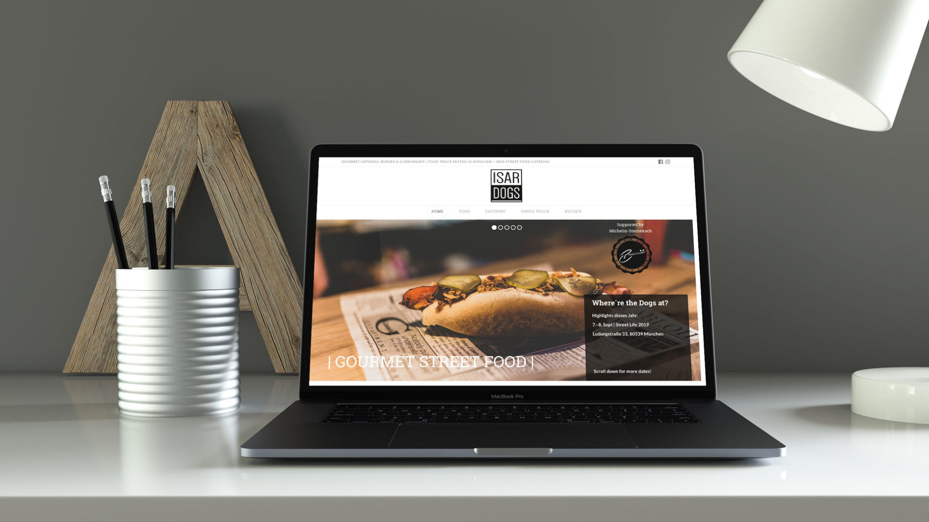 ISARDOGS Webdesign